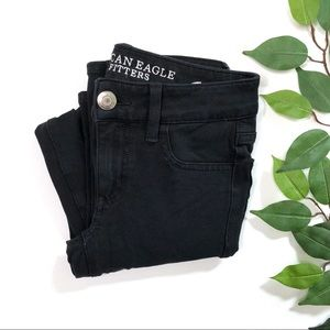 AEO Black Skinny Jegging Pants